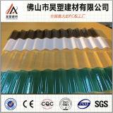 la fábrica de 0.7m m China dirige 840 930 1050 policarbonatos acanalados cubriendo la hoja para el invernadero y la vertiente de la cría