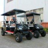 Китай 6 тележек гольфа места электрических Sightseeing с задним сиденьем 2
