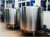Réservoir sanitaire de fermentation de lait de vapeur de l'acier inoxydable 1000L de nourriture
