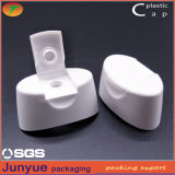 Casquillo plástico de la tapa del tirón de la botella de 20 cuellos con la pieza inserta del silicio para el champú