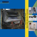Máquina de aluminio de la vacuometalización del enrollamiento de la película del PVC