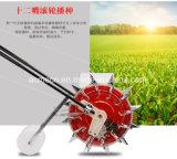 Landwirtschafts-Maschinerie drücken Mais-Sämaschine von Hand ein