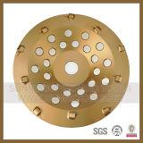 колесо чашки диаманта инструмента PCD пола 180mm Epoxy