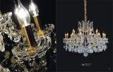 Kroonluchter van het Kristal van de Hal van het Hotel van de Stijl van de manier de Moderne (MD9840-16+8)