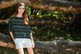 Entwurf und Manufaktur-Frauen-Chiffon- Gewebe-Blusen-Oberseiten