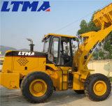 高く効率的な3.5トンの中国の車輪のローダーの新しい価格