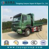 販売のためのブレーキの水スプレーヤーが付いている中国HOWO 371HP 6X4のダンプトラック