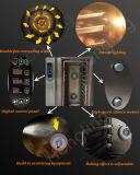 Tellersegment-elektrischer Handelskonvektion-Zahnstangen-Ofen Digital-12 mit Laufkatze