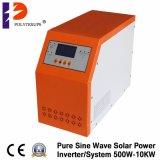 invertitore puro di energia solare dell'onda di seno 5000W con Costruire-nel regolatore