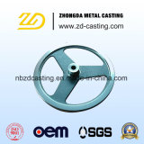 Soem-Sand-Gussteil-Graueisen-Gussteil mit der CNC maschinellen Bearbeitung
