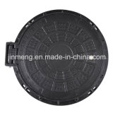 Lock에 섬유유리 Manhole Cover Hinge Design Dia 750mm D400
