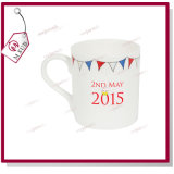 10oz Sublimation Bone China Balmoral Mug con Custom Logo