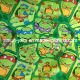 Милая ткань печати маргаритки для краткостей пляжа Mens/рубашки