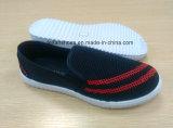El último ocio de los hombres calza los zapatos del deporte del Slip-on de la inyección (FF516-8)