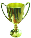 Metal de OEM/ODM 3D e troféu da madeira