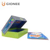 Rectángulo de regalo de empaquetado rígido de la impresión del rectángulo de la tarjeta de papel