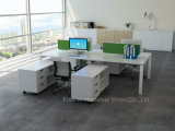 Table Top (HF-YZB014)のScreen Dividerの現代Linear Office Workstation