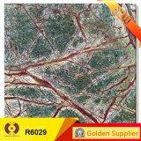緑の大理石のフロアーリングの合成の大理石の床タイル(R6029)