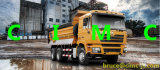 6X4를 가진 Dump/Tipper Truck를 위한 Shacman Heavy Truck/Vehicle