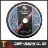 Abschleifende Ausschnitt-Platte für Metall 200X1.6X25.4