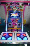 Máquina de juego de la música de baile de la arcada del simulador de la diversión del precio de fábrica de fichas