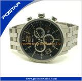 Het online het Winkelen Horloge van het Kwarts van Ce Populaire met 316L de Band van het Roestvrij staal