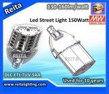 luz de calle de 130-160lm/W 150W LED
