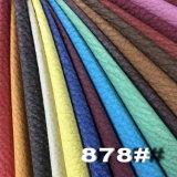 곡물 부드럽게 매끄러운 돋을새김된 가구 합성 PU 가죽 (Hongjiu-878#)