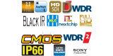 Cámara del IP de las cámaras de seguridad HD de Onvif 1080P (KIP-SHR30)