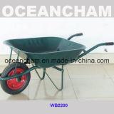 Brouette de roue industrielle vendable de qualité pour la construction (WB2200)