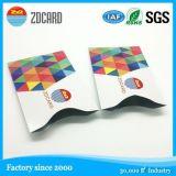 Luva RFID do cartão de banco do bom desempenho da alta segurança de RFID a melhor