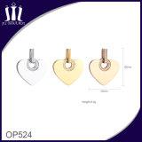 Nuovo pendente del cuore dell'oro di Rhinstone del collo di disegno