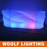 Contatore di plastica illuminato della barra della barra LED della Tabella del LED
