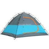 3-4人のテント、二重層のガラス繊維のポーランド人のキャンプテント
