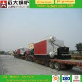 Chaudière à vapeur allumée par boulette en bois de biomasse de paille de capacité de Szl6-1.25-T 6ton