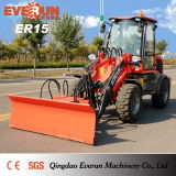 Mercado Europeo Earth Moving Machine Er15 con Rops & Fops Cabina