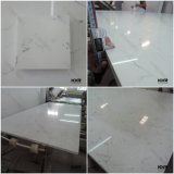 Brame blanche pure de quartz d'usine en pierre artificielle de la Chine