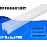 Luz impermeable de la Tri-Prueba de la emergencia LED