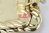 Bandeja del arte del chapado en oro del acero inoxidable (FT-0629)