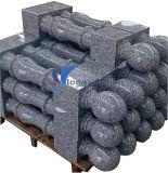 Granit normal personnalisé découpant le pilier