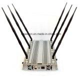 6 안테나 GPS WiFi/VHF UHF 방해기 315/433MHz 원격 제어 방해기 휴대 전화 방해기를 위한 탁상용 신호 방해기