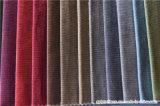 Tessuto del sofà del velluto di tono del catione due del poliestere della tappezzeria