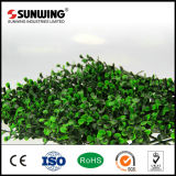 정원 훈장 녹색 UV 보호된 인공적인 잎 담 위원회