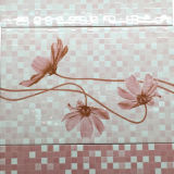 Baumaterial-Mosaik-Blumen-Muster-gesundheitliches Badezimmer-keramische Wand-Fliese