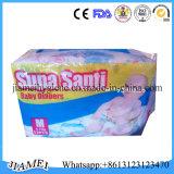 Luiers van de Baby van de Prijs van de Fabriek van Santi China van Supa de Beschikbare voor Ghana