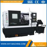 Torno inclinado de las herramientas de corte de la base del CNC metal chino de Tck-45sm del mini