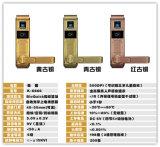 0.5 fechamentos importados EUA do cartão da senha CI da impressão digital da liga do zinco da microplaqueta da identificação da velocidade dos segundos
