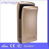 Waschraum Sanitary Ware, Hygiene High Speed Blue Commercial CER und RoHS Double Jet Hand Dryer