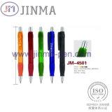 Pena de esfera plástica Jm-4501 dos presentes da promoção a grande