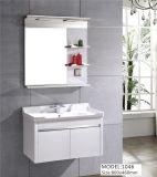 An der Wand befestigter weißer rustikaler Badezimmer-Bassin-Eitelkeits-Schrank